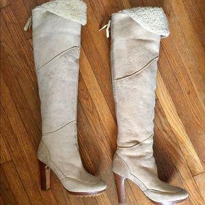 Vintage Knee High Ugg Boots
